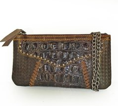 American Bling by Montana West Genuine Leather, Phone & Card Crossbody P... - $33.66