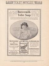 1895 Cosmo Buttermilk Soap Co Chicago IL Ad: Bu... - $8.86