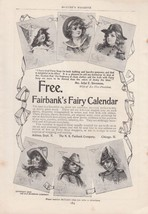 1898 N K Fairbank Co Chicago IL Ad: 1900 Fairba... - $8.86
