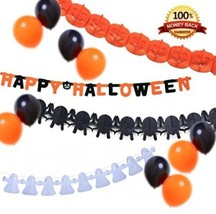 EverKid Happy Halloween Party Decoration Set 1 ... - $15.04
