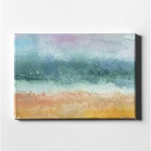 "Beach By Woods Giclee Canvas Wall Art, 26"" X 40"", Rary - $190.99"