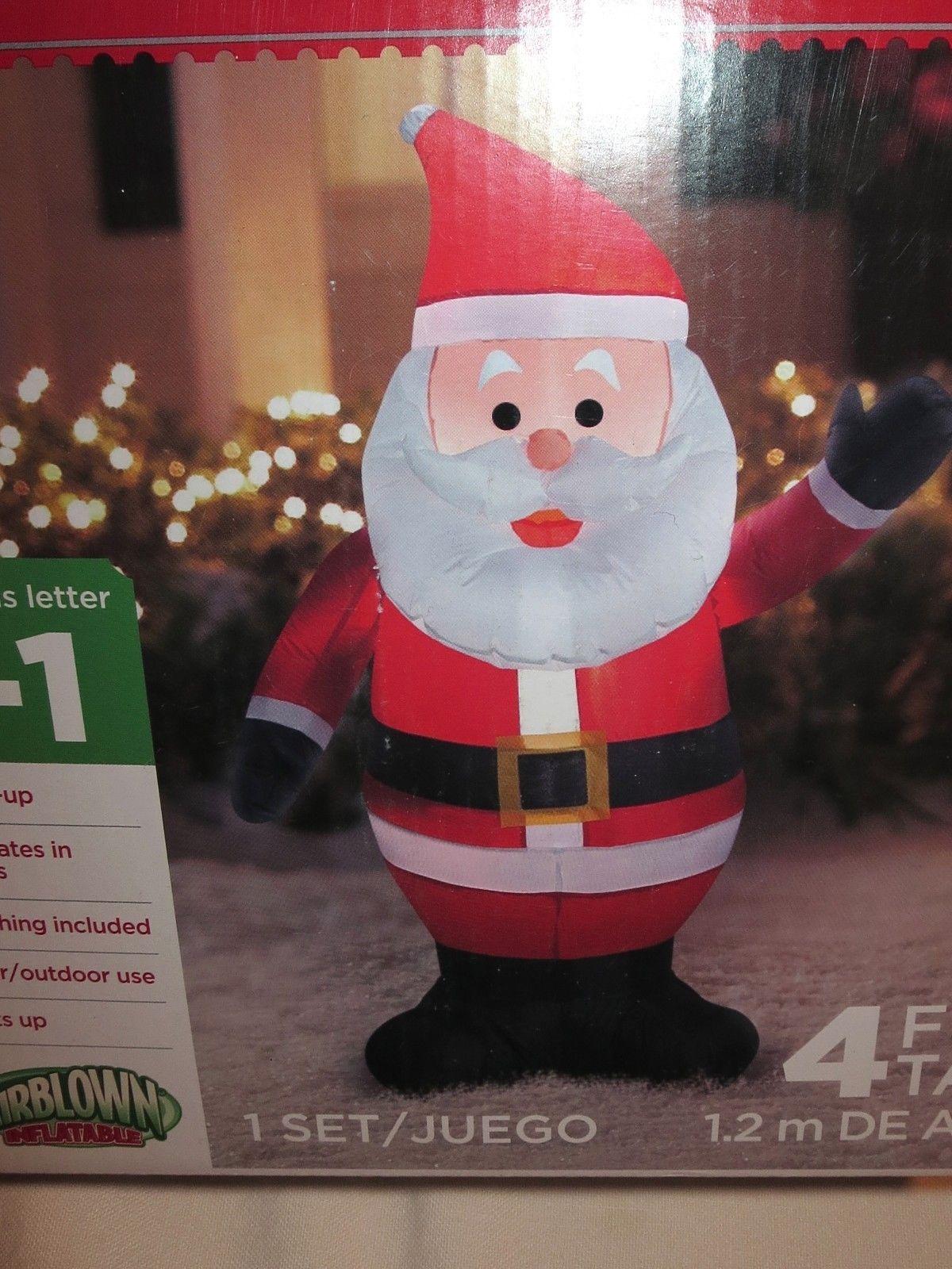 Airblown inflatable santa claus christmas yard decoration for Air blown christmas decoration