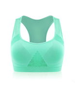 VEAMORS Absorb Sweat Seamless Sports Bras, Women Wirefree Padded Yoga Br... - $10.00