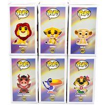 Funko Pop Disney The Lion King Mufasa Simba Nala Zazu Luau Pumbaa & Timon Set image 4