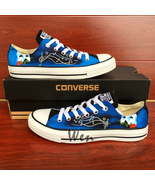 Sneakers Unisex Converse All Star Phantom Of The Opera Hand Painted Shoes  - $145.00