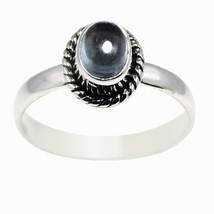 New Arrival Blue Topaz Shiny Gemstone 925 Sterling Silver Ring Sz 7 SHRI... - £10.52 GBP
