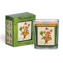 Verdure Soy Double Wick Candle Hand Poured in USA Boxed Gift (Squash Blossom ...