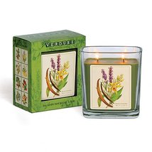 Verdure Soy Double Wick Candle Hand Poured in USA Boxed Gift (Vanilla Lavender)