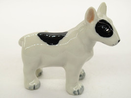Mini Collectible Ceramic Bull Terrier Dog Breed... - $4.46