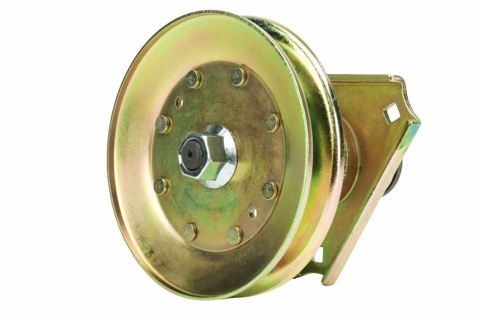 Finish Mower Spindle Assembly : Erie tools lawn mower spindle assembly for john deere