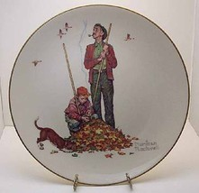 Pensive Pals Collector Plate by Norman Rockwell - $45.00
