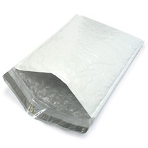 """Size #000 Measures 4"""" x 8"""" 25 Poly Bubble Padded Mailers Self Sealing Du... - $6.85"""