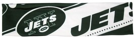 NEW YORK JETS STRETCH PATTERNED HEADBAND GAME TAILGATE PARTY TEAM NFL FOOTBALL