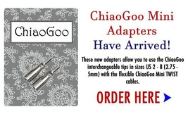 ChiaoGoo Mini IC Cable Adapters  2501-AM - $3.95