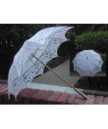 Wedding Parasol in white - $36.99