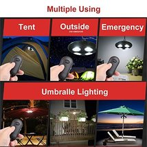 Parateck Remote Control 32 Feet Distance 27 White LED Umbrella Light 2 L... - $31.64