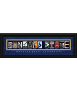Montana State University Bobcats Officially Licensed Framed Campus Lette... - $39.95