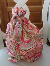 Vera Bradley ditty bag in retired Capri Melon pattern  - $22.52 CAD