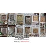 FULL BUNDLE Garden Club Series (12 total) cross stitch chart Blackbird D... - $86.40