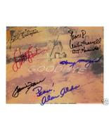 MASH CAST 6 SIGNED AUTOGRAPHED RP PHOTO LAST EPISODE - $14.39