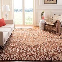 Safavieh Dip Dye Collection DDY511Q Handmade Damask Premium Wool & Silk ... - $241.52