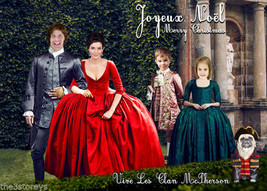 SERIES TWO OUTLANDER CHRISTMAS CARD, Outlander in FRANCE, Photo Christma... - $28.00+
