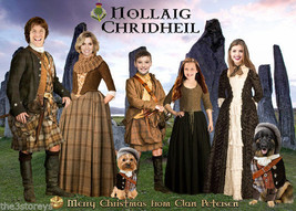 Outlander parody Christmas card, Scotland, Series 1 Outlander Christmas ... - $28.00+