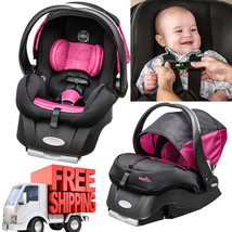 Baby Car Seat Infant Child Safety Safe Sensor Evenflo Girls Boys Embrace... - $232.64