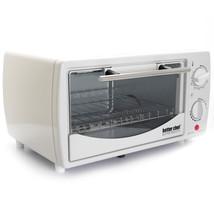 Better Chef 9 Liter Toaster Oven Broiler-White - $51.08