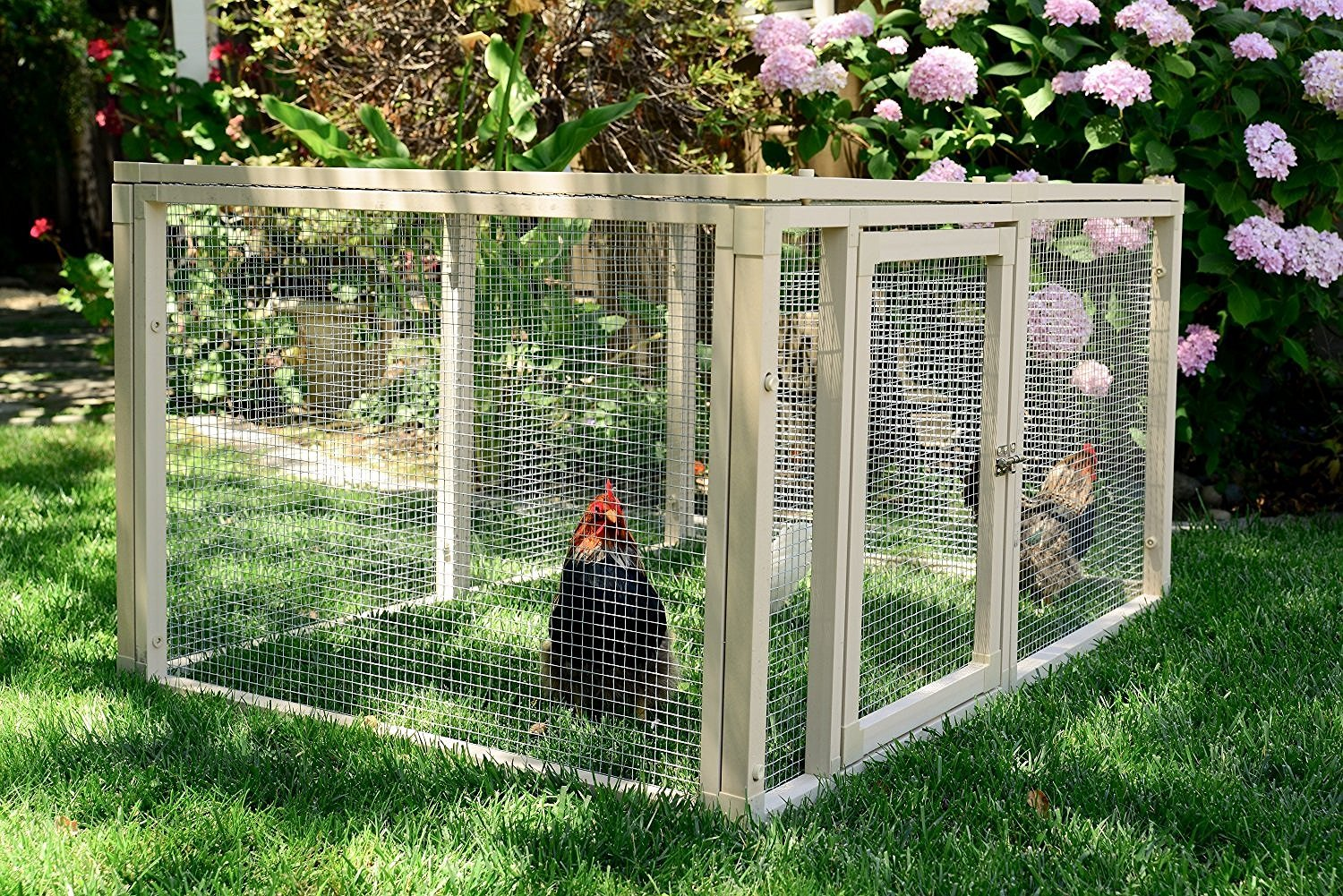 Chicken Coop Cage House Building Poultry Supply Fence Pen