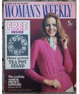 Woman's Weekly Magazine, March 11 1972 Prince Edward - $6.50