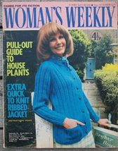 Woman's Weekly Magazine, October 2 1971 House Plants - $6.50