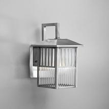 Outdoor Wall Light Fixture Patio Garden Glass 1 Light Decor - £60.61 GBP