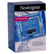 NEUTROGENA Makeup Remover Cleansing Towelettes, 114 Towelettes - $24.75