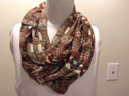 Howard's 100% Polyester Multiple Patterns Multiple Colors Infinity Scarf