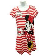 Disney Mickey & Minnie Mouse Love Nightie Women's Sleep Shirt Red Nightgown - $29.99