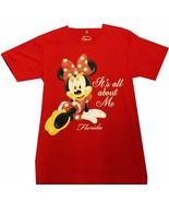 Brand New! Disney Minnie Mouse Women's  T-Shirt (S,M,L,XL)  Its all abou... - $23.36+