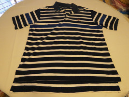 Polo Golf Ralph Lauren Men's short sleeve polo shirt XL navy & wht cotto... - $32.17