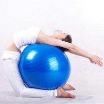 """22"""" Blue Exercise Yoga Ball with Pump,Pilates & Balance Training,Anti-burst&Slip - $19.98"""
