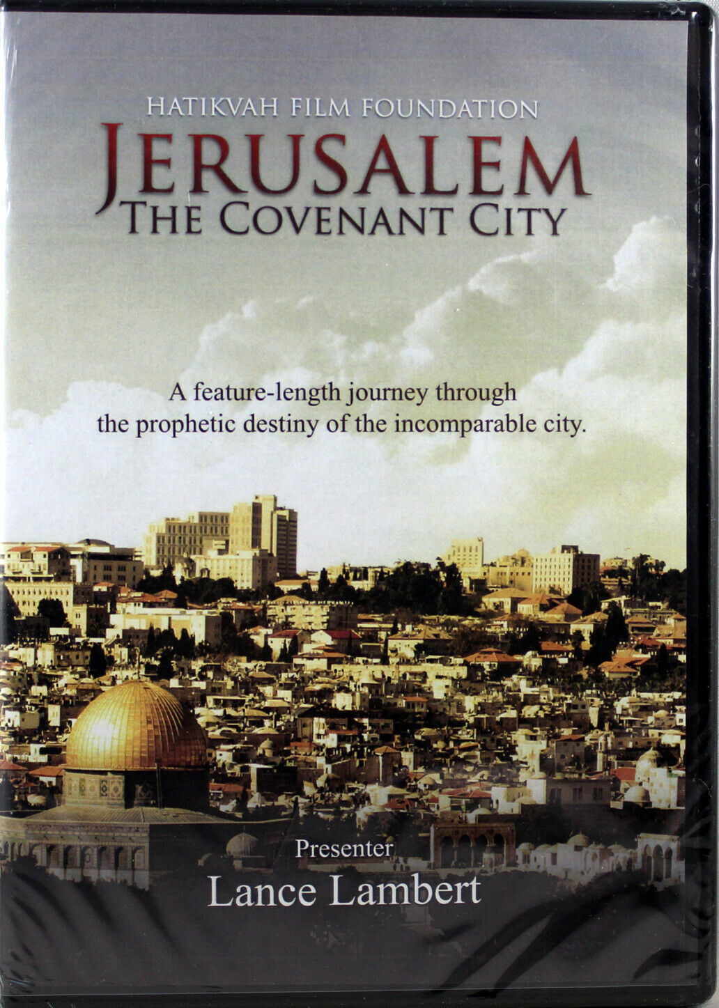 Primary image for Jerusalem The Covenant City NEW DVD Documentary Presented by Lance Lambert