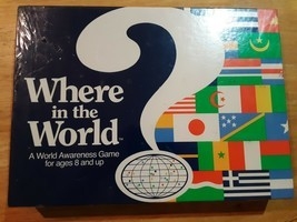 Aristoplay Where in the World Awareness Board Game Vintage Geography Dat... - £21.59 GBP