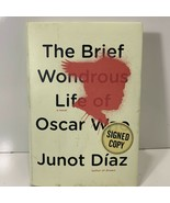 The Brief Wondrous Life of Oscar Wao Junot Diaz Autographed Signed Copy ... - $99.99