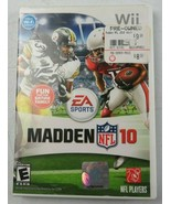 EA Sports Madden NFL 10 Nintendo Wii Complete Game Case Manual Mint Cond... - $15.00