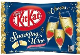 Nestle KitKat Sparkling Wine Mini Biscuit 12 Mini Biscuits ~ US SELLER - $8.42