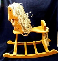 Boyds Bears Boyd's Bears Giddy Up Rocking Horse Wood Brand new with box ... - $34.65