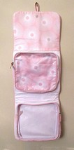 Estee Lauder Hanging Travel Bag Makeup Toiletry Pink White Detachable Pouch - $10.00
