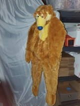 Disney Store Bear the Big Blue House Furry Cosplay warm Costume 2-4 kids toddler - $21.25