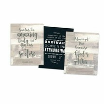 Carpentree 136314 Amazing & Extraordinary Journals - Set of 3 - $7.92