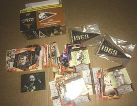 2011 UD 85 CARD LOT  UNIVERSITY OF TEXAS FOOTBALL W/ 2 1969 PATCHES METC... - $2.97