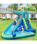 Kids Hippo Inflatable Bounce House with Bag - $391.43